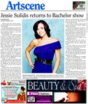 Jessie Sulidis returns to Bachelor Show