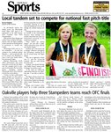 Oakville players help three Stampeders teams reach OFC finals