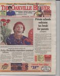 Oakville Beaver11 May 2001