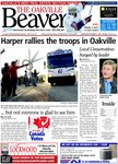Harper rallies the troops in Oakville -- but not everyone is glad to see him