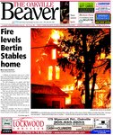 Fire levels Bertin Stables home