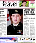 Oakville-born colonel killed in Afghanistan