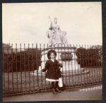 Hazel at Kensington Gardens, London, England