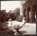 Hazel and Juliet at Kensington Gardens, London, England