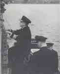 Admiral Nelles Boards HMCS Oakville, November 5, 1941