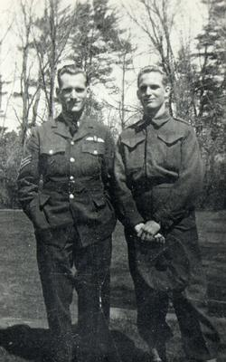 Brothers Ken (left) and Peter (right) Marlatt