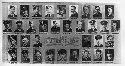 Oakville High School Honour Roll 1939-1945