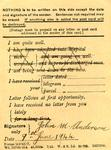 Postcard dated June 9th, 1944 from John M. Anderson (Jock Anderson)