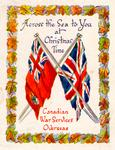 Canadian War Services Overseas Christmas card
