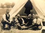 Niagara-on-the-Lake Training Camp for The Halton Rifles Home Guard, c.1916.