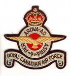 Royal Canadian Air Force insignia during 1939-1945 World War