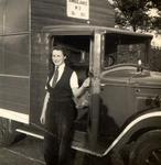 Audrey Johnson, ambulance driver during Second World War