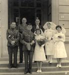 The wedding of Tom and May Lothian in Italy, April 15, 1945