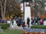 Remembrance Day 2005, George's Square, Oakville